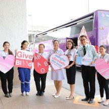"""รวมพลังผู้ให้ไทยนครินทร์  """"GIVE BLOOD SAVE LIFE"""""""