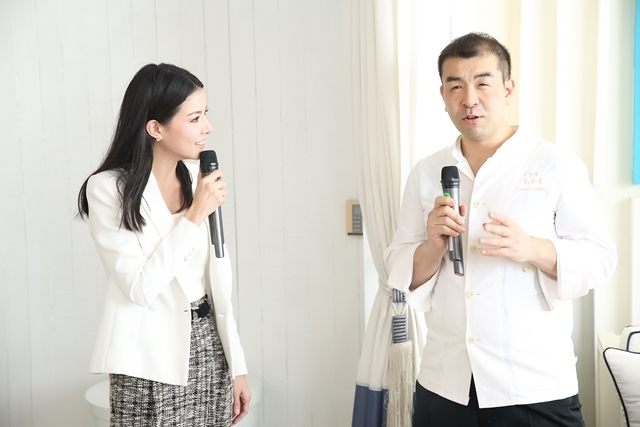 กวาง อรกานต์ พิธีกรสาวสวยสัมภาษณ์เชฟทาคากิ คาซูโอะ