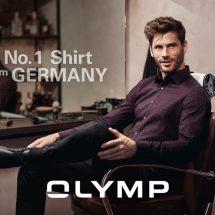 """""""OLYMP-โอลิมป์"""" ชวนหนุ่มๆ มาช้อปเสื้อเชิ้ตอันดับ 1 จากเยอรมนี"""