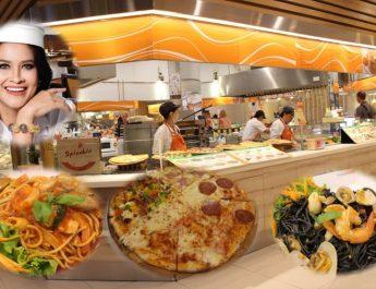 แม่เหน่ง!! ชวนชิมพิซซ่า  ที่ Spicchio-สะปิคคิโอ @ Food Park ศูนย์การค้าเซ็นทรัล เฟส พัทยา