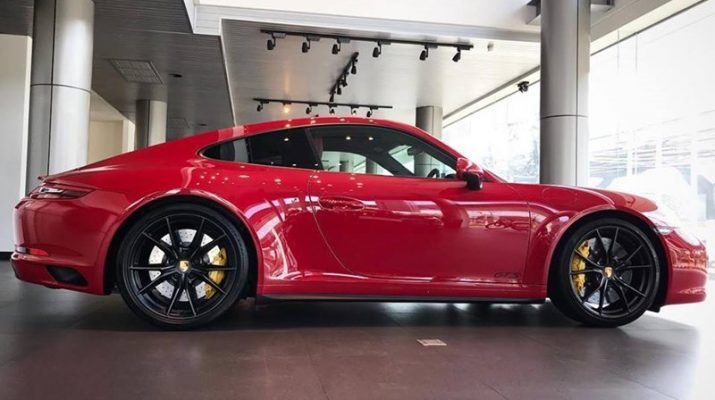 Porsche 911 คาร์เรร่า จีทีเอส