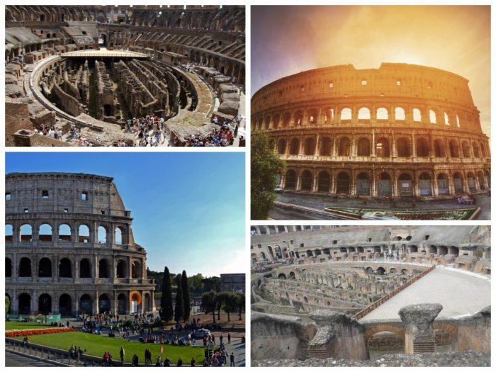 roman forum, colosseum